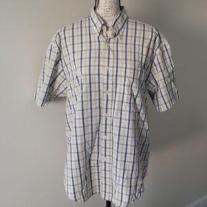 Mens NAutica Casual Buttom Down Shirt